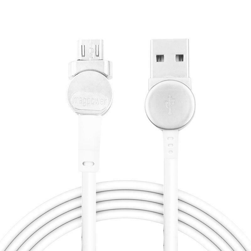 Cable - Magnetic USB Type C Cable Data Sync Nylon Braided LED Indicator