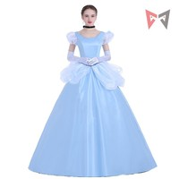 Mmgg movie Cinderella dress Halloween Cosplay Costume custom made High Quality