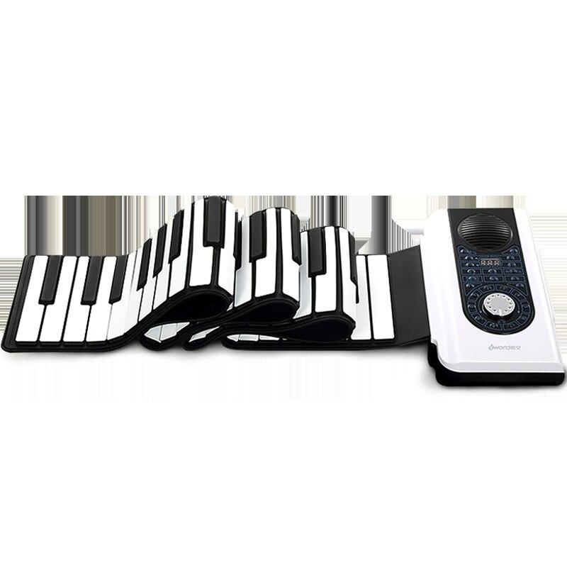 Nouveau Usb connexion PC 88 Clé Professionnel Édition Piano Portable Pour Débutants Adultes enfants Piano Électronique 140 sortes de son