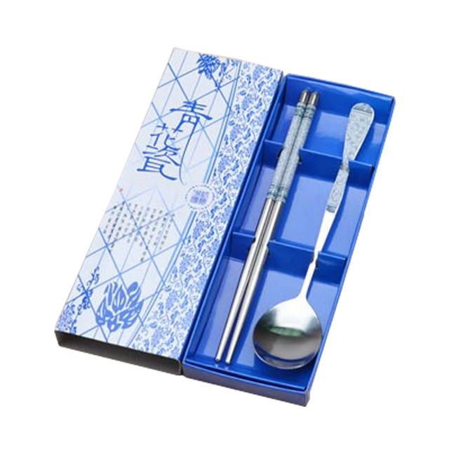 JUCESUPER Edelstahl Geschirr Set High end Portable Geschirr ...