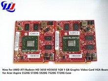 Новый для AMD ATI Radeon HD 3650 HD3650 1 ГБ 1 ГБ Графический Видеокарта VGA плата для Acer Aspire 5520 г 5720 г 5920 г 7520 г 7720 г случае