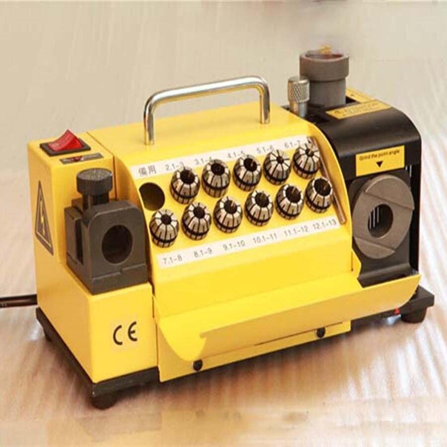 MR-13D drill bit grinder Grinder portable carbide tools drill bit sharpener grinder machine 1pc wd6 60 precision drill grinding machine tools universal large drill grinder machine 6 60mm bit grinder machine
