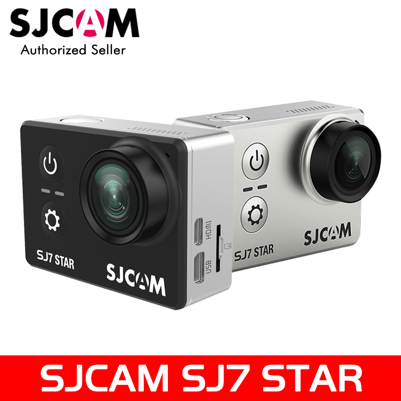 Original SJ7 Star 4K 30fps Ultra HD SJCAM Action Camera Ambarella A12S75 2.0 Touch Screen 30M Waterproof Remote Sport DV