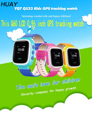 2018 New HOT GPS Tracker Watch for Kids old man Safe GPS Watch 0.96 inch LCD smart SOS Call Finder Locator Tracker Anti Lost Q60