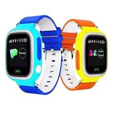 New GPS smart watch baby watch Q90 with Wifi touch screen SOS Call Location Device Tracker for Kid Safe Anti-Lost Monitor PK Q60