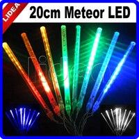 20 CM Meteorenregen Regen Outdoor Bruiloft Tuin Nieuwjaar Navidad Guirlande Kerstversiering Fairy String Licht LED Lamp CN C-26
