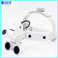 Good Quality Surgical Head Light dental Lamp All in Ones Headlight with loupes 3.5X Dental Loupes
