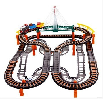 Large Thomas Railway Electronic Train Thomas Truck Light&Music Christmas/New Year Electric Rail Car Railroad Boy Toy In Stock on stock new super thomas small train electric track car boy puzzle large car racing for children s christmas gift kids toys