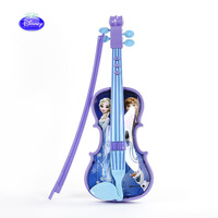 Disney Frozen Princess Music Electronic Violin Children Boys and Girls Toys Simulated Musical Instruments Can Play birthday gift