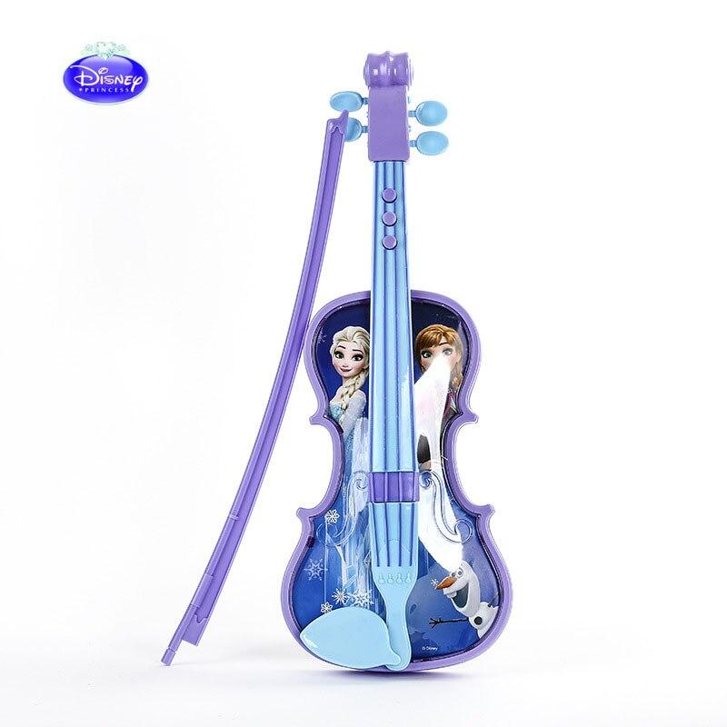 Los niños y niñas de la música de la princesa de Frozen de la princesa juguetes de los niños y niñas los instrumentos musicales simulados pueden jugar el regalo de cumpleaños