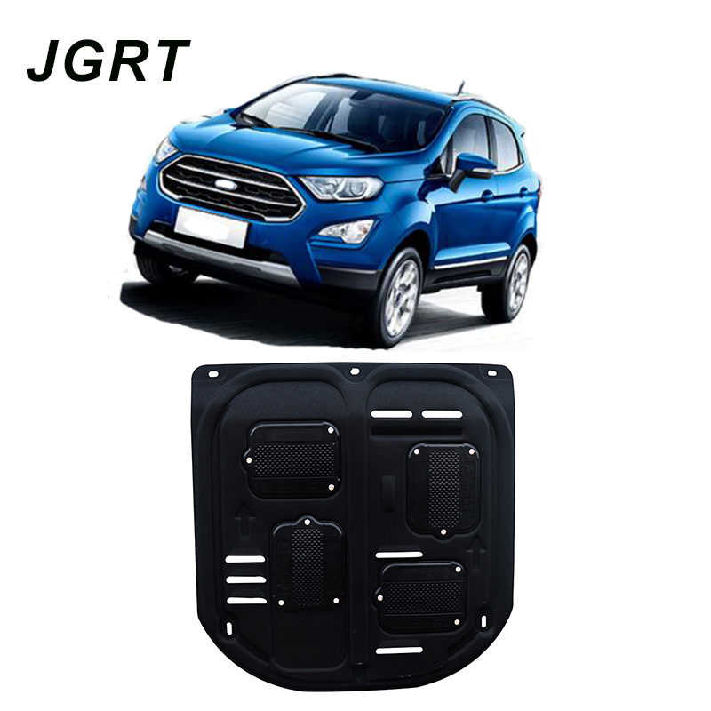 Car styling For Ford Ecosport plastic steel engine guard For Ecosport 2018 Engine skid plate fender
