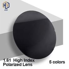 HERVI 1.61 High Index Polarized Sunglasses Optical Lenses 5 Colors Optional Single Vision Prescription