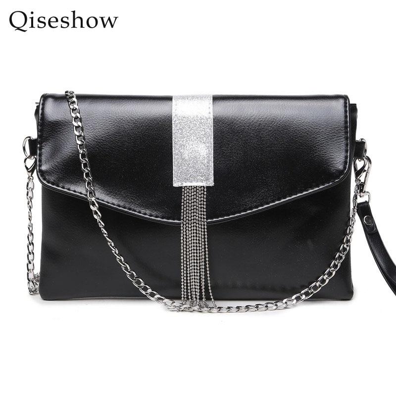 ФОТО Fashion Womens Stella design Chain Detail Cross Body Bag Ladies Shoulder bag clutch bag bolsa franja luxury evening bags
