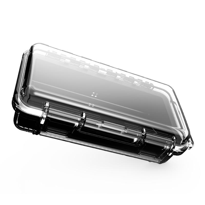 Portable Waterproof Earphone Storage Box Drop Resistance Protective Case For Headphone MP3 Player Headset Amp Earplugs Earbuds