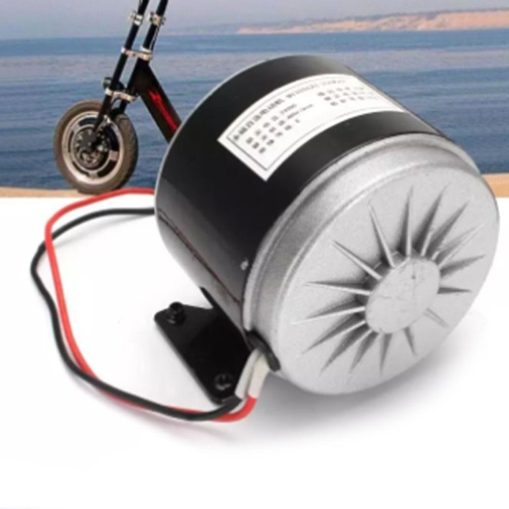 24V 250W High-Speed Brushed DC Functional Motor Electric Scooter Folding Bicycle Electric Bicycle Brush Motor Bike Accessories