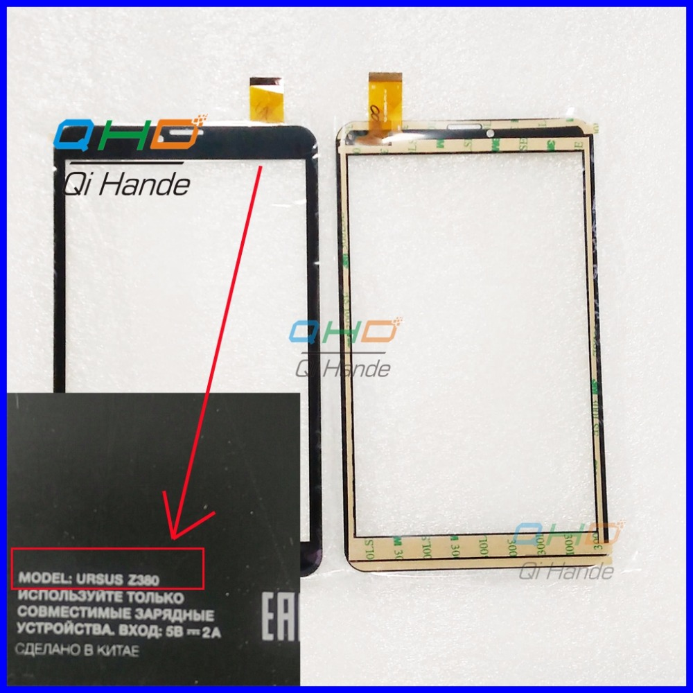 Black New For 8'' inch Dexp Ursus Z380 3G Multitouch Panel PC Capacitive touch panel Digitizer Sensor Replacement Touch Screen new touch screen for 7 inch dexp ursus 7e tablet touch panel digitizer sensor replacement free shipping