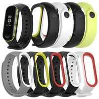 Ersatz Armband Original Bunte Smart Zubehör für Xiao mi mi Band 3 Strap wasserdichte Sport Silikon Handgelenk Gurt