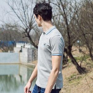 Image 5 - Pioneer Camp 2019 smart casual polos männlichen neue sommer männer polo shirt baumwolle kurzarm shirts trikots marke kleidung 677031