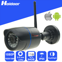 1080P 2 0Megepixel HD CCTV 3 6mm Lens WiFi Wireless IP P2P CCTV Waterproof font b