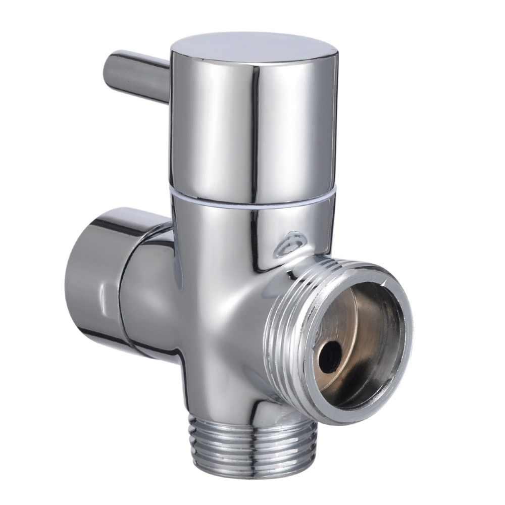 1 szt. 3 sposoby t-adapter zawór przełączający do głowicy prysznicowej toaleta wc opryskiwacz kran akcesoria