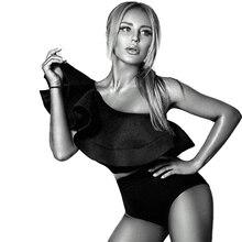 Pantalon női ruhák nyaklánc váll fekete fehér nyári nyári női kosztüm Top Női nyári felső Roupas Feminina
