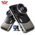 Anstar 4 inch Car Dvr Video Recorder Dashcam Dual Lens Camera Parking Assistance Blackbox Dash Cam Vehicle Camera Auto Camcorder