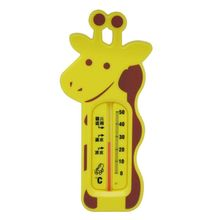 Cute Cartoon Giraffe Water Thermometer Baby Bathing Temperature Measurement Infants Toddler Shower Spas Hot Tub Supply baby s cute tiger style bathtub bathing water thermometer orange yellow black