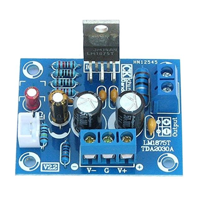 20 Wát HIFI Mono Kênh LM1875T Stereo Khuếch Đại Âm Thanh Board Module DIY Kit