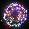 DC 24V 50M 500LED Copper Wire Warm White/White/RGB LED String Light Starry Lights + Power Adapter
