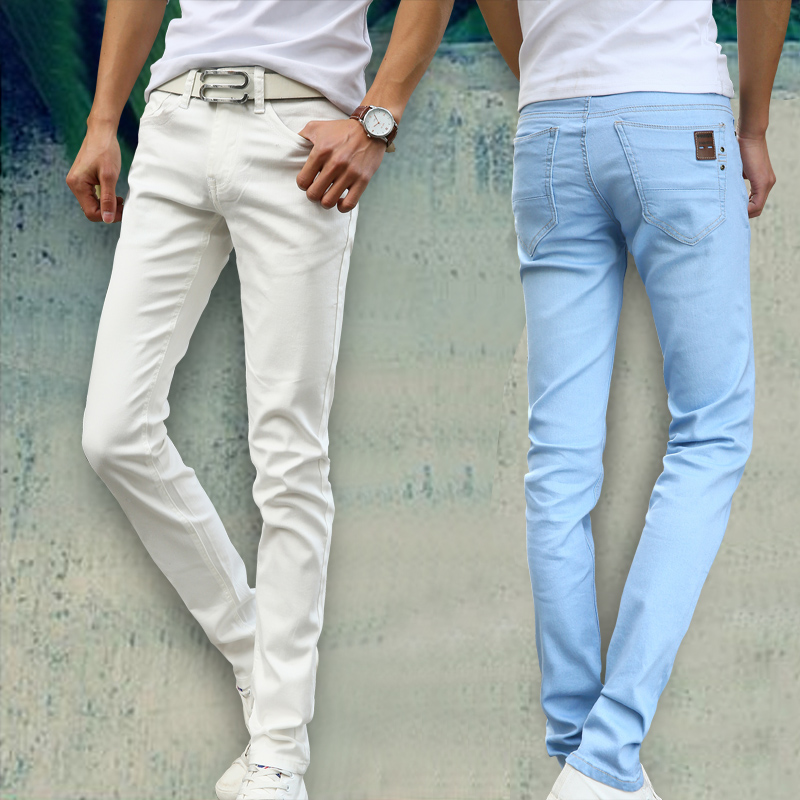 750e48a4 New Fashion Men's Casual Stretch Skinny Jeans. Home / MEN / JEANS.  0-083a73.jpeg. -59%. Rated ...
