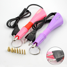 Purple / Pink Hotfix Rhinestone Applicator hot fix Applicator Fast Heating Iron-on Wand Heat-fix Tool