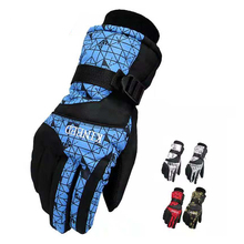 New Unisex Ski Gloves Sport Snowboard Gloves Motorcycle Riding Skiing Mountain Winter Windproof Waterproof Men Women Snow Gloves new women men ski gloves snowboard snowmobile motorcycle riding mountain children winter snow gloves windproof waterproof unisex