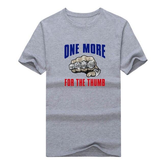 fa49535799 Tom Brady one more for the thumb Patriots 2016 SUPER BOWL LI CHAMPIONS T- shirt 100% cotton fans New England T Shirt 0207-1