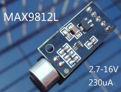 Free Shipping!!! Microphone Amplification MAX9812 Microphone Amplifier Microphone Module / Microphone Module / Sound Module