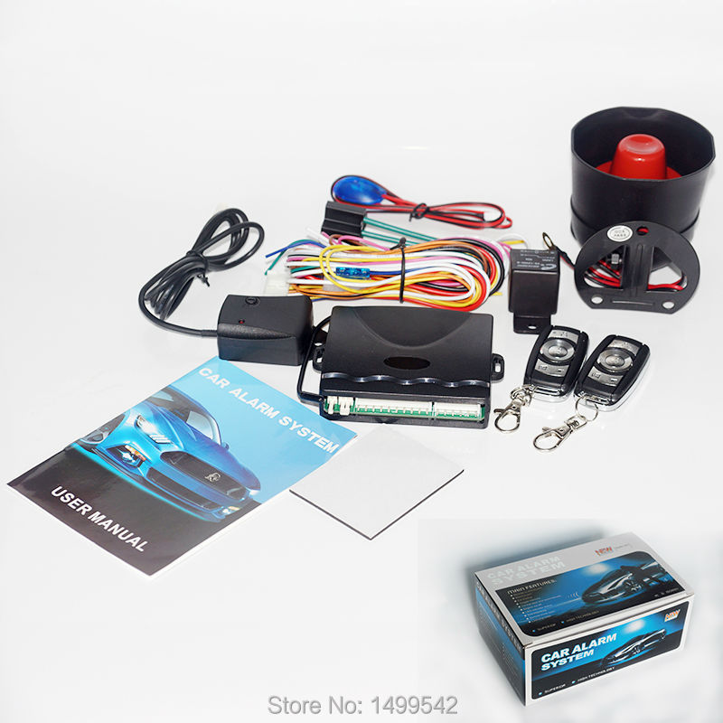 roubo a prova de venda quente universal inteligente programavel sistema de alarme de carro remoto central