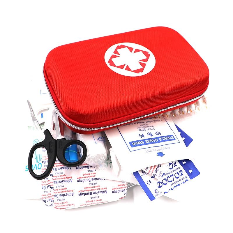 Црвена и црна кутија за прву помоћ - Безбедност и заштита - Фотографија 2