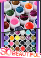 Nail Polish 12PCS Colorful Nail Art UV Gel Professional Glitter Powder Nail Gel Nail UV gel set