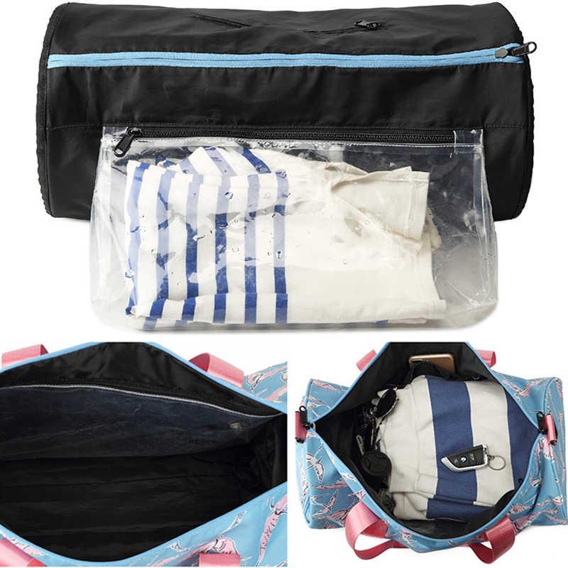 ... Special Hot Outdoor Waterproof Nylon Sports Gym Bags Men Women Training  Fitness Travel Handbag Yoga Mat ... 30b5ace591fa9
