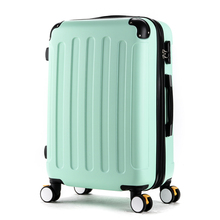 20 22 24 26 28inches(Sold Seperately) abs brake common wheels trolley baggage ,hardside case journey baggage,males black baggage