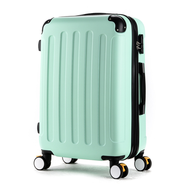 20 22 24 26 28inches(Sold Seperately) abs brake universal wheels trolley luggage,multi color available ,hardcase travel luggages