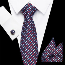 New Wedding Men Tie Red Striped Fashion Designer Ties For Business 7.5cm Dropshiping Groom Kravat  Gift for men