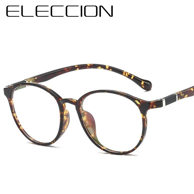 edab70c705b ELECCION 2018 Fashion Women Glasses Frame Men Eyeglasses Frame Vintage  Round Clear Lens Glasses Optical Spectacle Frame