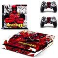 Deadpool calcomanías de vinilo pegatina piel cubierta para PS4 Playstation 2 Controller