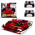 Deadpool decalques de vinil adesivo de pele para PS4 Playstation 2 controlador