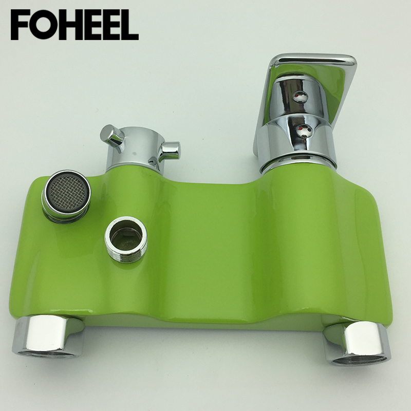 FOHEEL bathroom shower faucet cold and hot water mixer shower faucet good quality bronze polished wall mount shower faucetFOHEEL bathroom shower faucet cold and hot water mixer shower faucet good quality bronze polished wall mount shower faucet