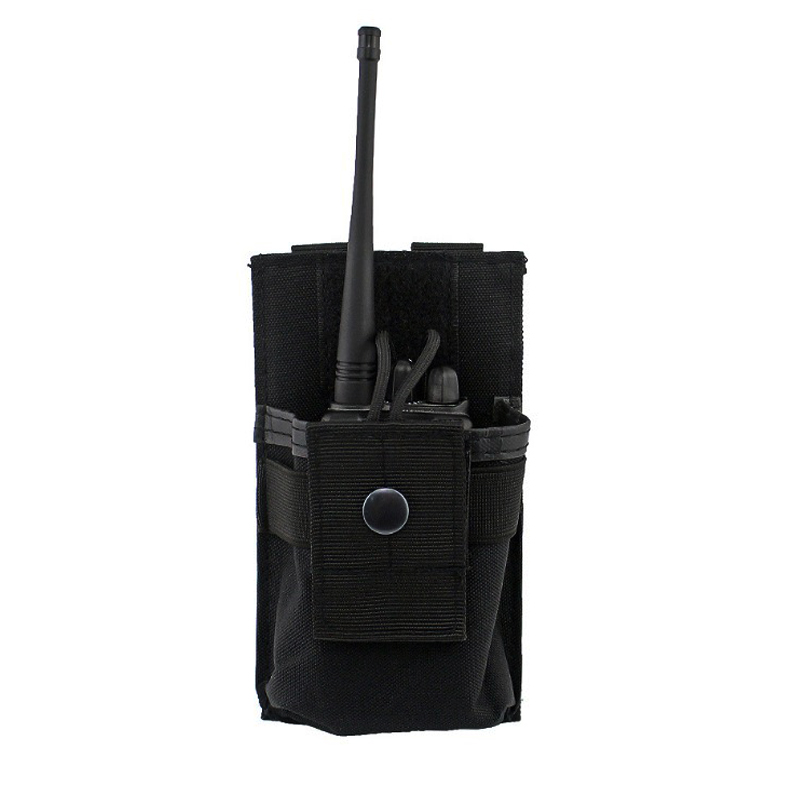 TAK YIYING 1000D Tactical Radio Pouch Walkie Holster Talkie Holder Waist Belt Bag Molle Radio Pouch