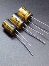 цена на 30PCS Nichicon FG 220uF/16V genuine spot 220uf 16v audio imported for capacitor free shipping