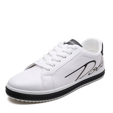 YeddaMavis Man Shoes 2019 Spring White Men Casual Male Sneakers Cool Street Brand Footwear PU Flats