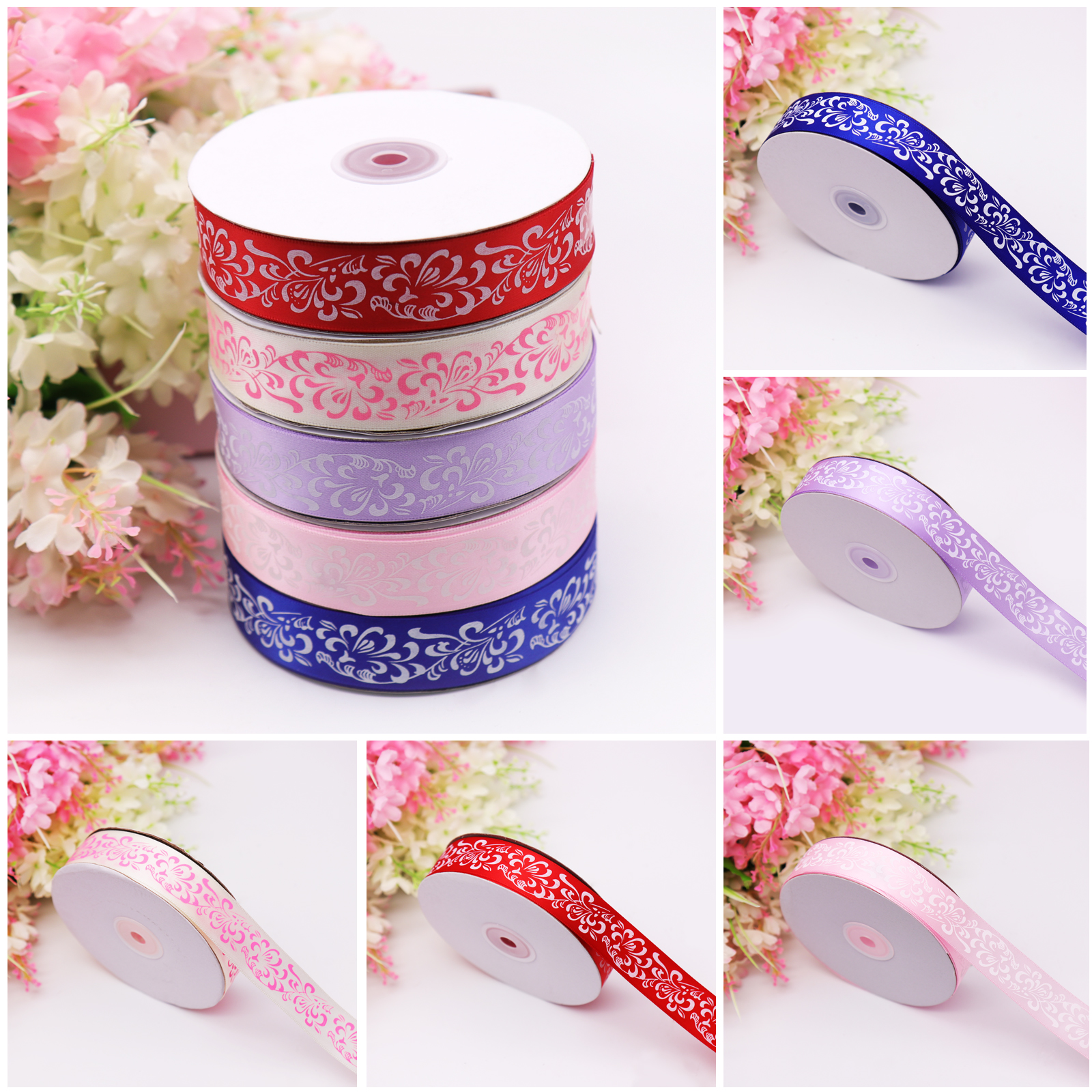 6MM X 100 Yards Curling Foil Ribbon Bow Wedding Birthday Party Gifts Decoration