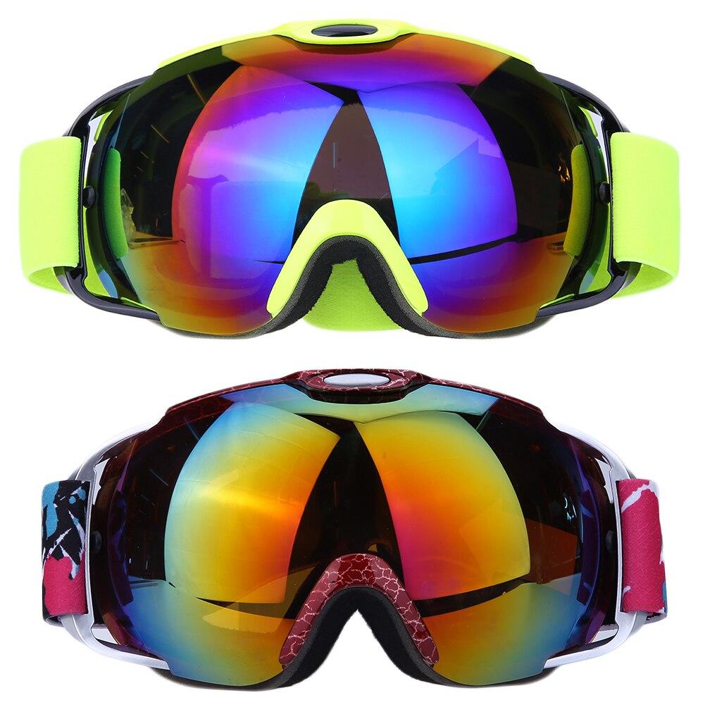Prix pour À double Lentille Anti-brouillard Sphérique Professionnel Ski Lunettes Lunettes De Snowboard Hommes Femmes Neige Snowboard Lunettes Anti-UV FAI